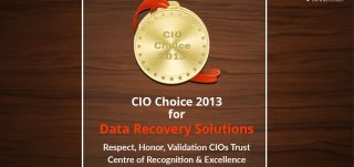 CIO CHOICE 2013 for Best Data Recovery