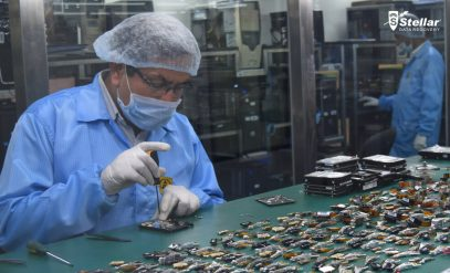 Data Recovery in a Professional Clean Room