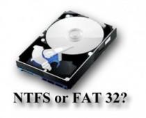 NTFS or FAT -Stellar