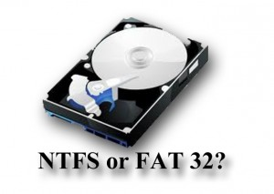 NTFS or FAT32 Which File System to Use?