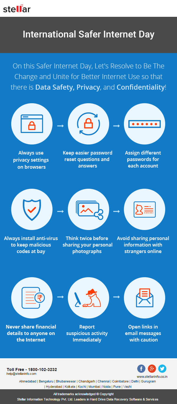 Internet Safety Tips - Stellar