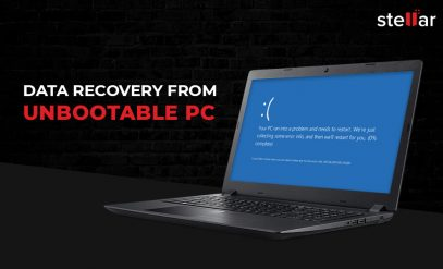 Data Recovery from Unbootable PC