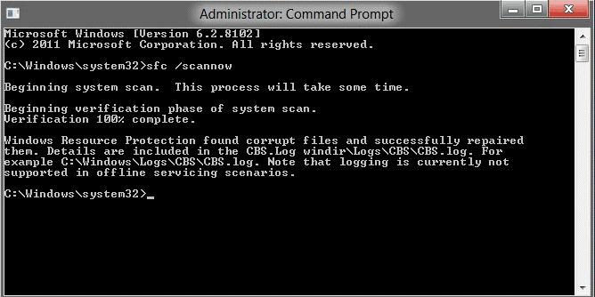 Windows detected hard disk problem,cmd solution
