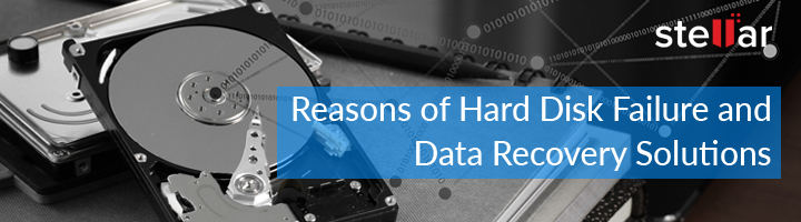 Different Types Of Hard Drive Failure and Data Recovery Solutions