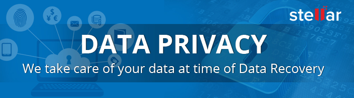 Data Privacy – We take care of your data at time of Data Recovery