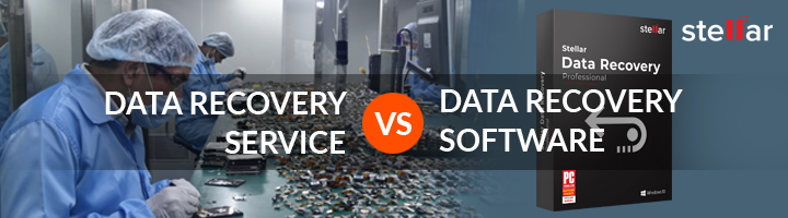 Data Recovery Service or Data Recovery Software
