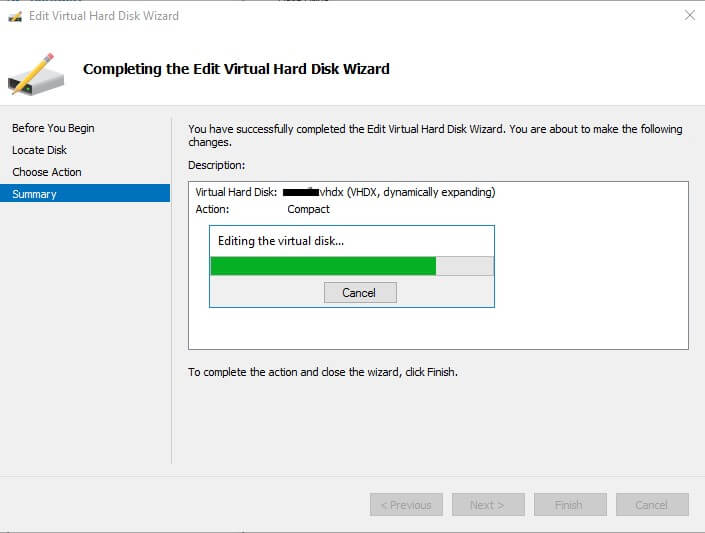 Repair or recover vhd files