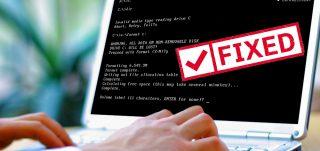 Fix Invalid media type reading drive C Error