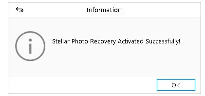 activate stellar photo recovery