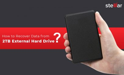 How to recover data from 2TB external hard drive