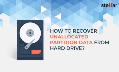 recover unallocated partition data