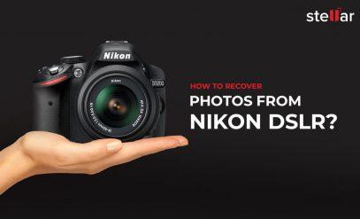 Recover Photos from Nikon DSLR