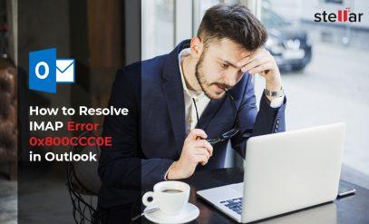 IMAP error 0x800CCC0E in Outlook
