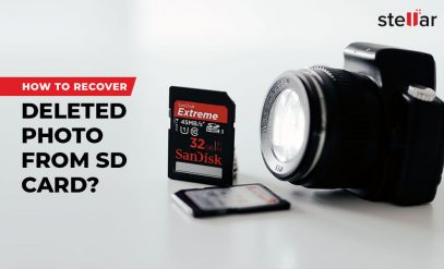 recover deleted photo from SD card