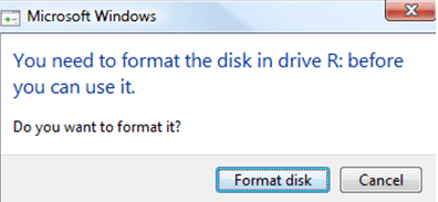 you need to format the disk before you can use it -stellar-data-recovery