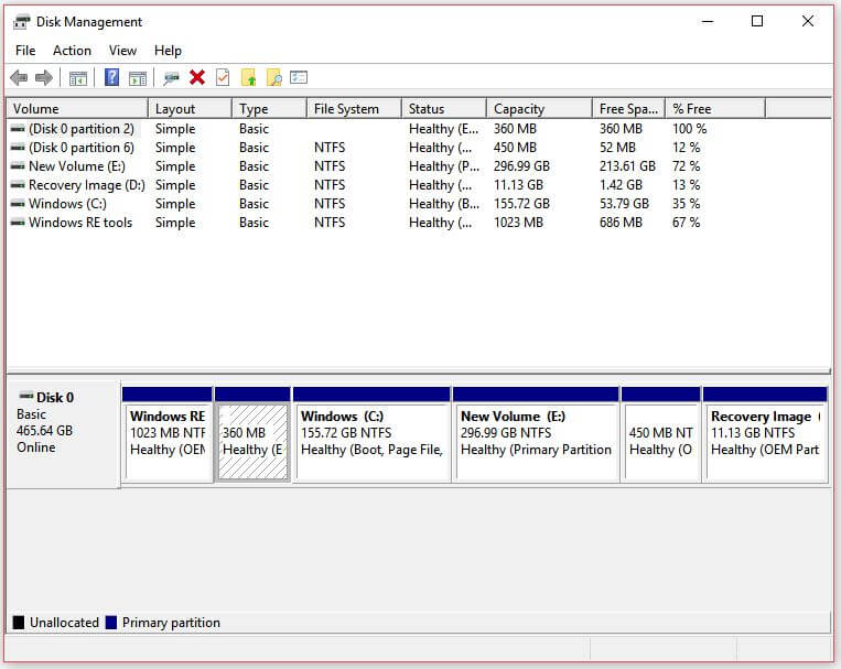 Partition a Hard Drive in Windows