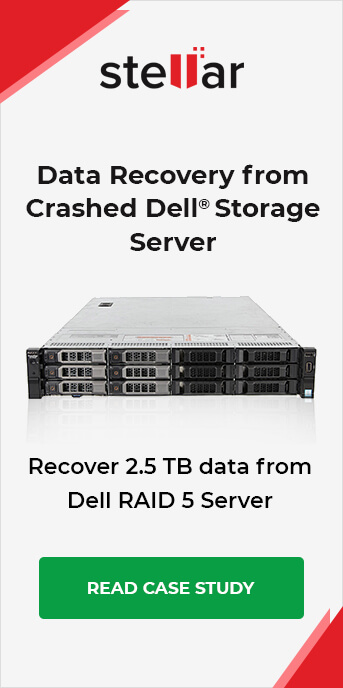 Data Recovery From Crashed RAID server