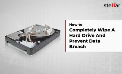 How to Wipe A Hard Drive Data
