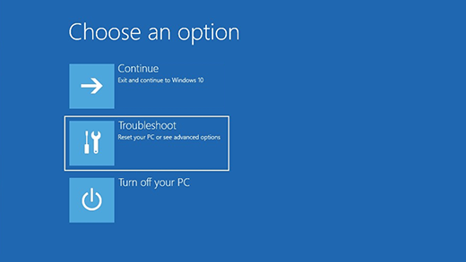 Windows Option