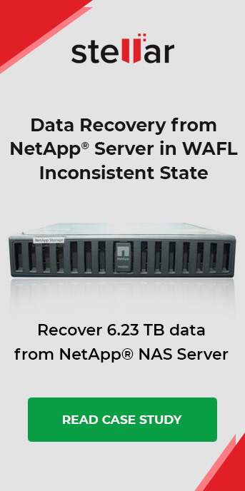 Data Recovery from NetApp Server