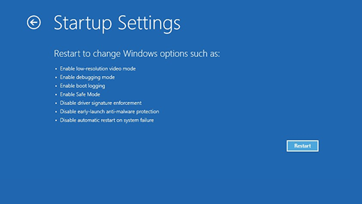 Windows-startup-setting