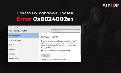Fix Windows Update Error 0x8024002e