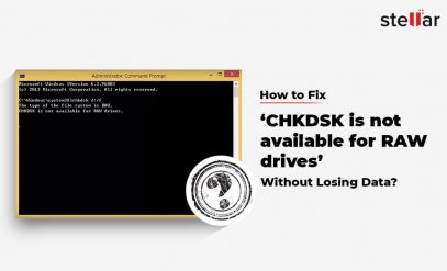 How to Fix 'CHKDSK is not available for RAW drives
