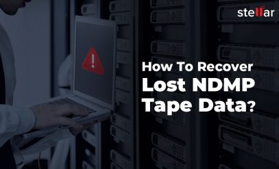 Recover NDMP Tape Data