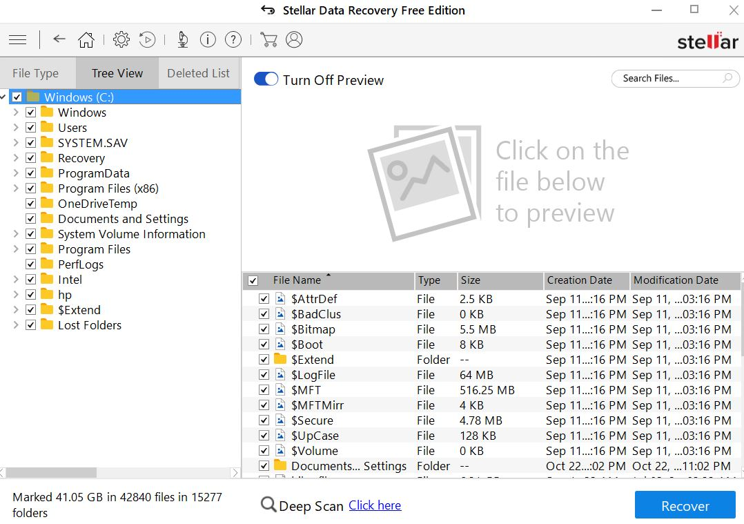 free recovery software