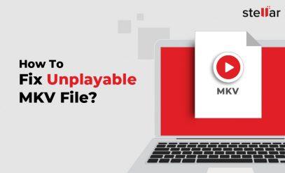 repair mkv file