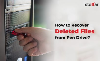 recover deleted files from pen drive.