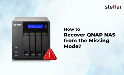 recover QNAP NAS from the missing mode