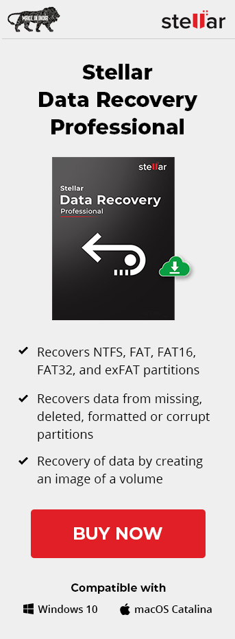 Stellar data recovery for professional