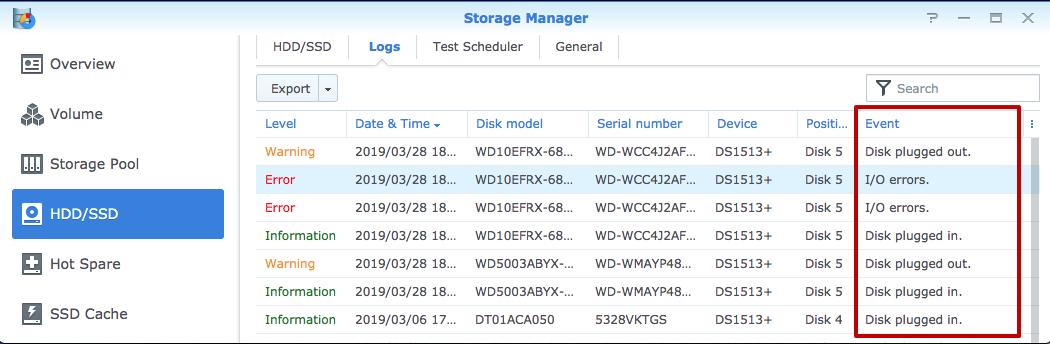 Storage-manager-Synology-volume-crashed