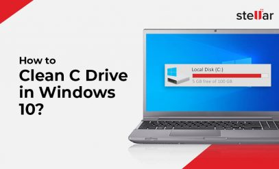 Clean C Drive in windows 10