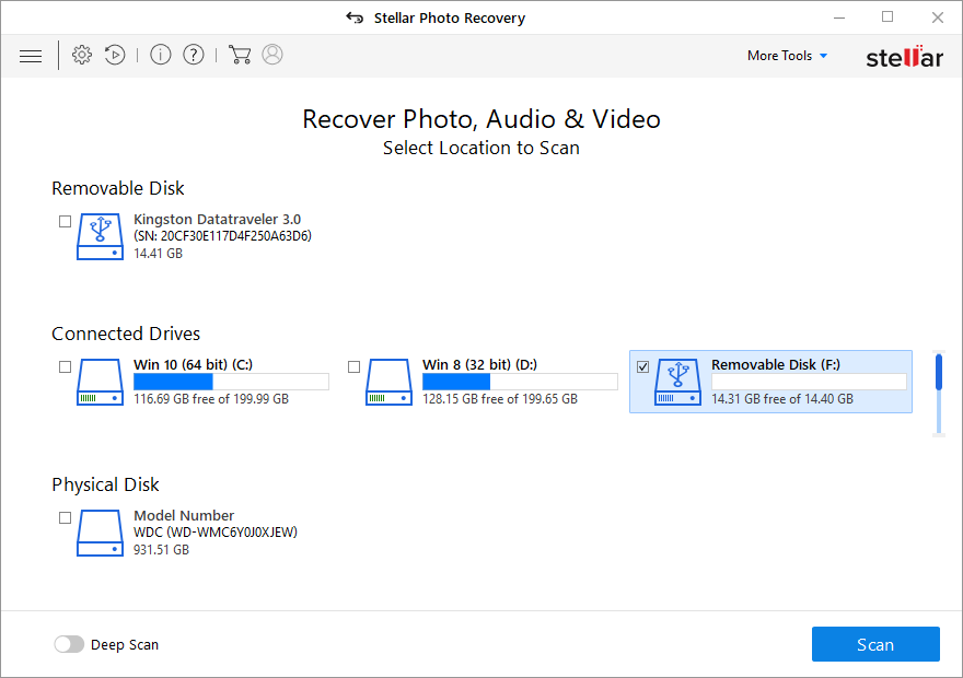camcorder video recovery