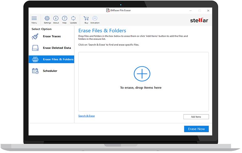 Erase Files & Folders