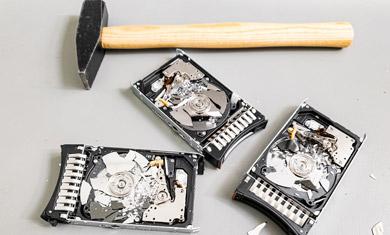hard disk data disposal
