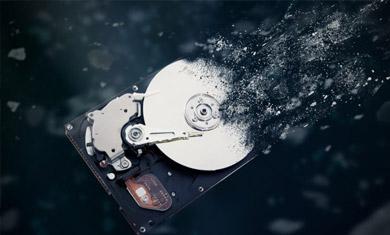 destroy hdd data