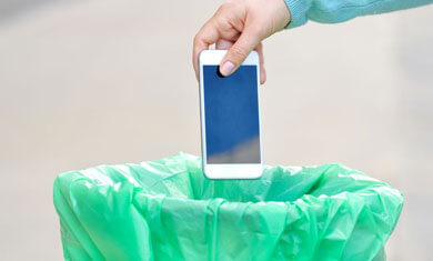 DISPOSING OLD MOBILE