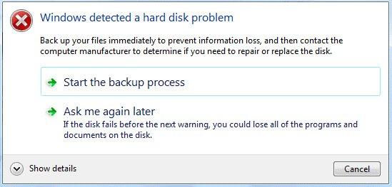 windows-detected-a-hard-disk-problem