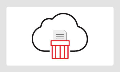 DELETED FILES FROM CLOUD