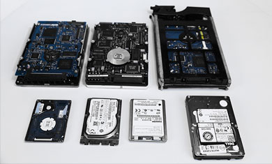 destroy data from non working hdd