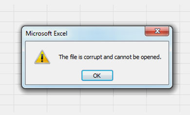 CAN'T OPEN THE EXCEL FILE