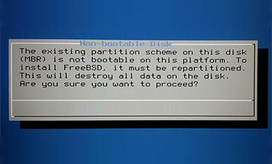 non bootable hard drive