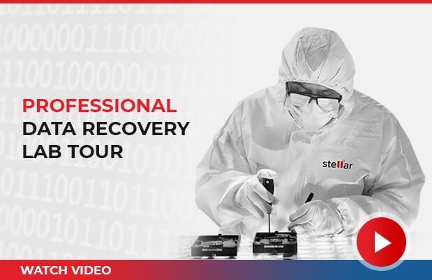 Stellar Data Recovery Lab Tour