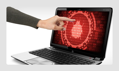 Virus or malware attack in hdd