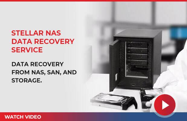 Stellar NAS Recovery - watch video