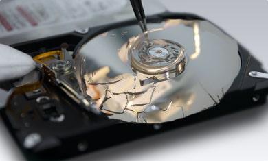 Physical DAMAGED hard drive
