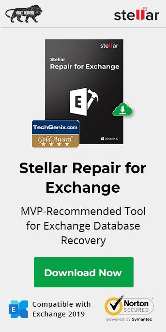 Stellar Repair for Exchnage